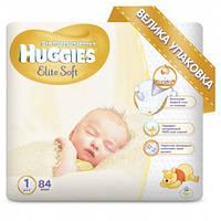 Підгузники Huggies Elite Soft 1, 2-5 кг, 84 шт
