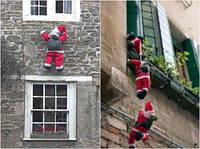"""Санта на лестнице 1шт 60""""80-декор вашего дома и офиса, фото 1"""