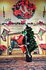 "Новогодний Санта на лестнице 1шт  90""85-декор вашего дома,офиса и т.д"