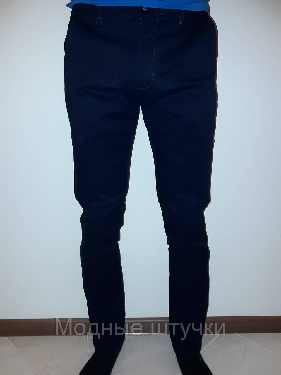 8d5267ac8eb Мужские брюки подросток темно-синие Baron 6064 - Модные штучки в Николаеве