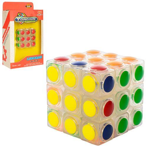 Кубик Рубика YJ8607  5,5-5,5-5,5см, в кор-ке, 12-20,5-6см