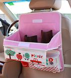 Органайзер автомобильный с раскладным столиком, фото 3