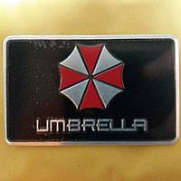 Наклейка/Шильдик/Емблема на авто UMBRELLA 80×50 мм