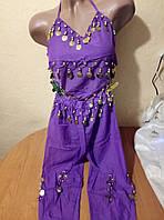 Детский шифоновый костюм для восточных танцев