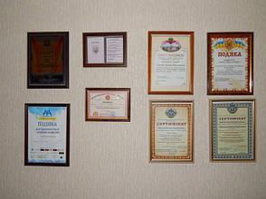 Грамоты, сертификаты и награждения адвоката Майстро Д.Н.