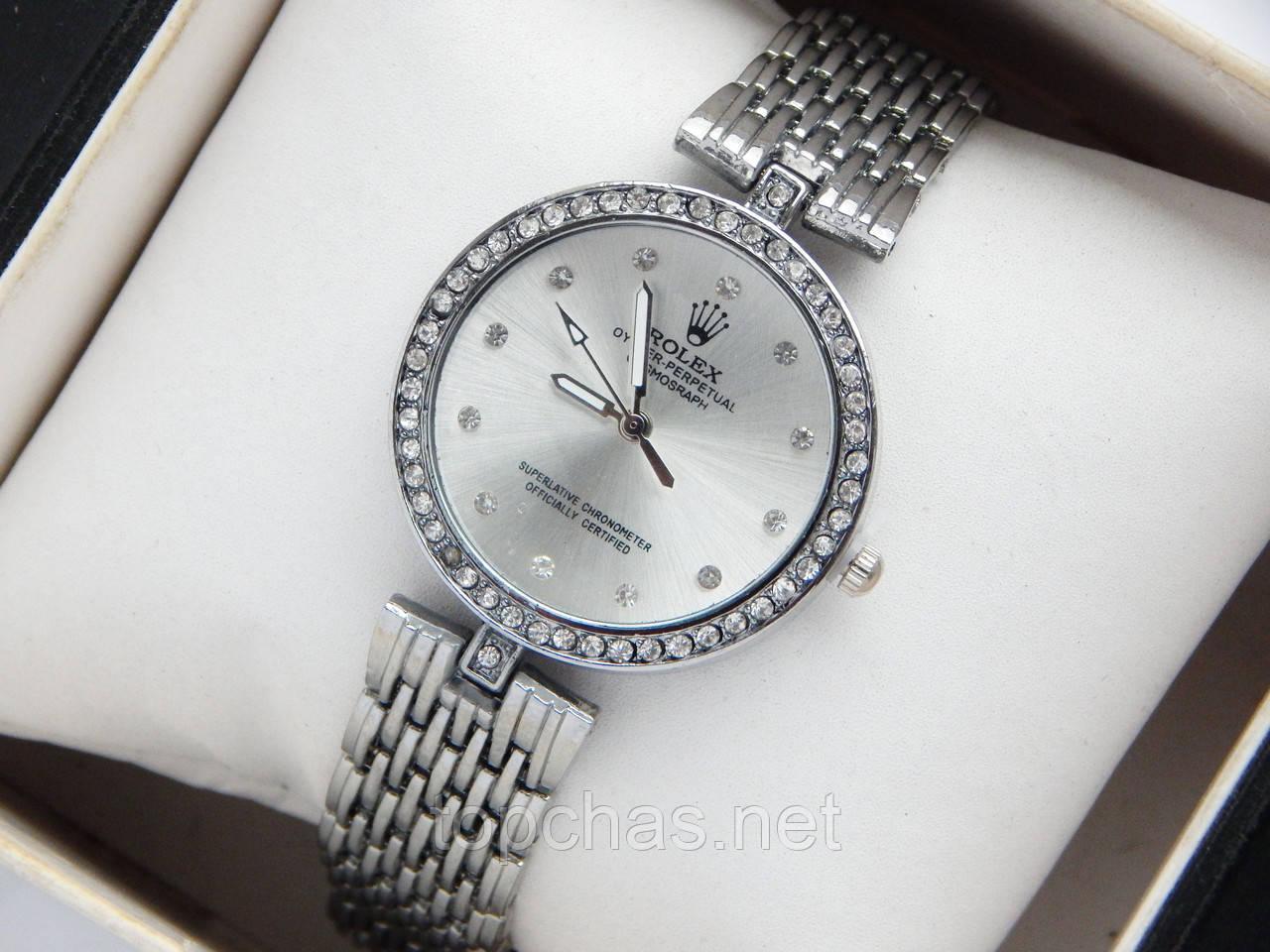 Наручные часы со стразами на циферблате копия часов бланпа купить в москве