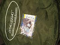 Палатка KAIDA  2.5*2,5метра отстежной клапан для лунок светло серый камуфляж., фото 1