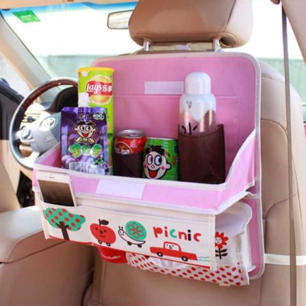 Органайзер автомобильный с раскладным столиком