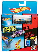 Трек Хот Вилс Гонка в кармане. Hot Wheels Pocket Raceway