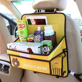 Органайзер автомобільний з розкладним столиком