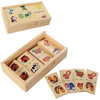 Деревянная игрушка Домино M00876