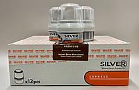 Silver Premium Крем-блеск для обуви с воском КОРИЧНЕВЫЙ 50мл