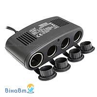 Автомобильный разветвитель гнезда прикуривателя с USB питанием Heyner 4WayPower Pro 511 000