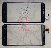 Doogee Y6 сенсорний екран, тачскрін чорний