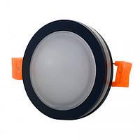 Светильник диодный SDF 01R 5W BK 4500K чорний