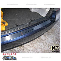 Накладка на бампер NataNiko B-HO03 для Honda Civic VIII 4D 2006-2011