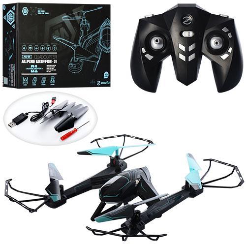 Квадрокоптер AG-01   р/у,2,4G,аккум,свет,USBзарядное,запасн.лопасти,в кор-ке,49-32-9см