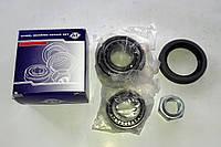 Ремкомплект маточини передньої лівої Ваз 2101-2107 АТ (7804+7805+сальник+гайка), фото 1
