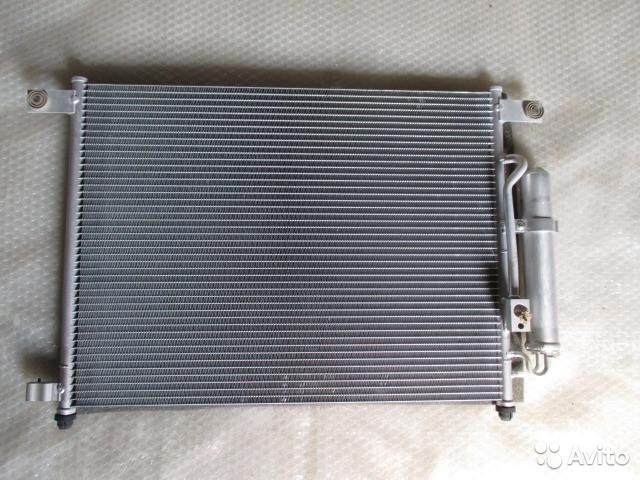 """Радиатор кондиционера Авео, Aveo """"HDC"""" (96834083)"""