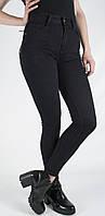 Женские джинсы черные с высокой посадкой Cushen CS 9765, фото 1