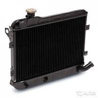 Радиатор водяного охлаждкения ВАЗ 2101, 2102, г.Оренбург (медный)