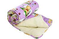 Одеяло детское Чарівний сон овечье меховое
