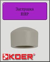 Заглушка 25 Koer полипропилен