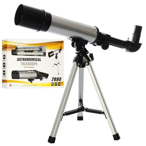 Телескоп 7890  подставка-тренога, в кор-ке, 55-31,5-7,5см