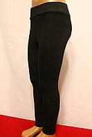 Стрейчевые черные зимние леггинсы на меху для девочек от 3 до 8 лет. Фирма-Niebieski Польша.