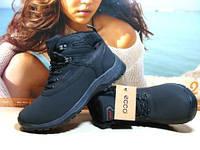 Ботинки женские Ecco Biom (реплика) черные 40 р.