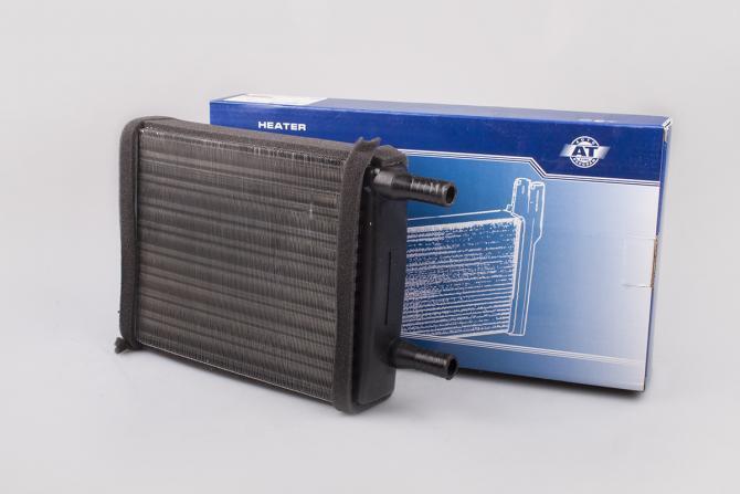 """Радиатор отопителя, радиатор печки ГАЗ 3302 Газель""""AT"""" D18 н/о (1060-217RA)"""