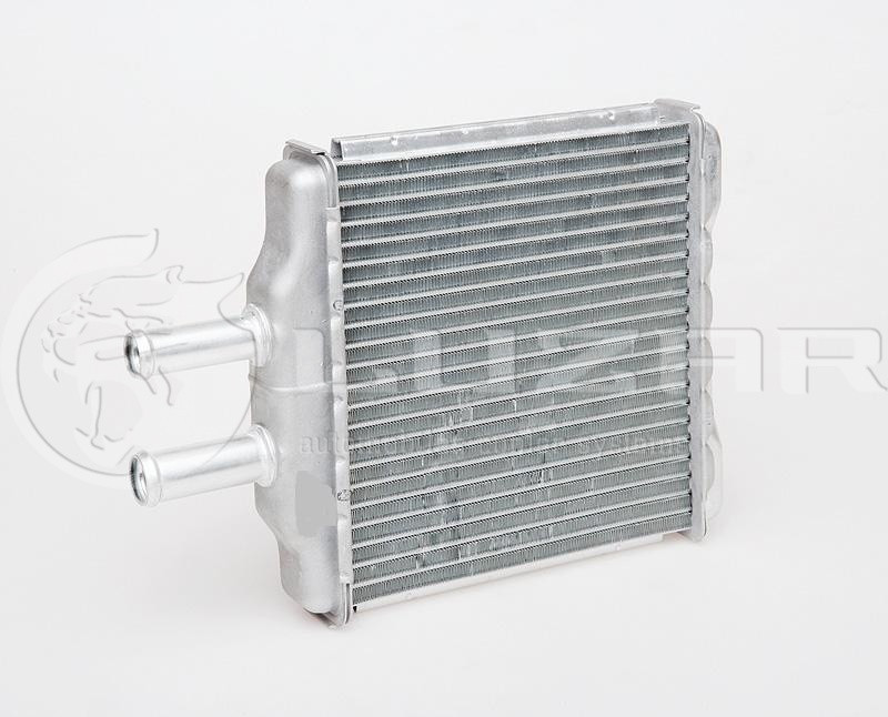 "Радиатор печки, радиатор отопителя Авео, Aveo b=198 ""Лузар"" алюм.паян. (LRhs05304)"