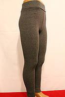 Стрейчевые серые зимние леггинсы на меху для девочек от 3 до 8 лет. Фирма-Niebieski Польша.