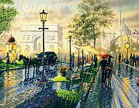 """Схема для вышивки бисером """"Дождь в Париже"""""""