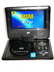 """7,6"""" Портативный DVD плеер Opera аккумулятор TV тюнер USB"""