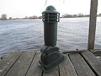 Вентиляционный выход 110мм Зеленый Kamp-eu