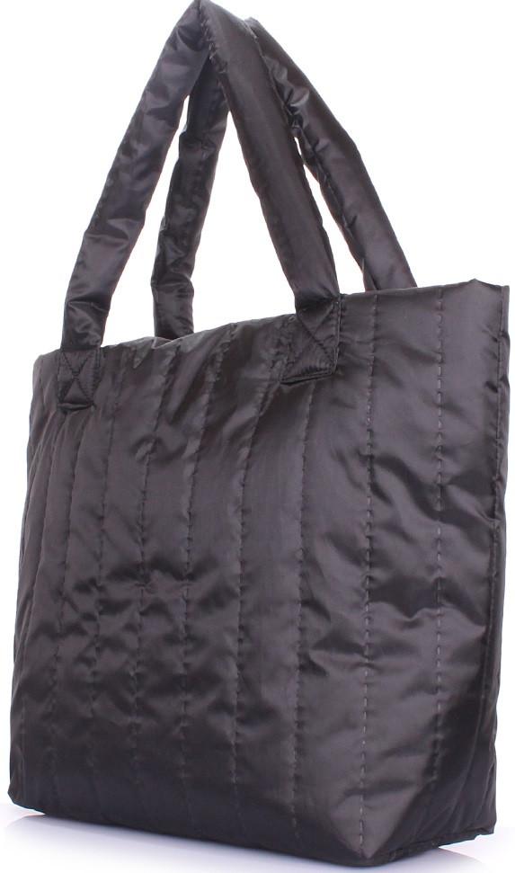 6739fe704350 Элегантная дутая сумка POOLPARTY, ns-8-black-new, черная, цена 442 ...