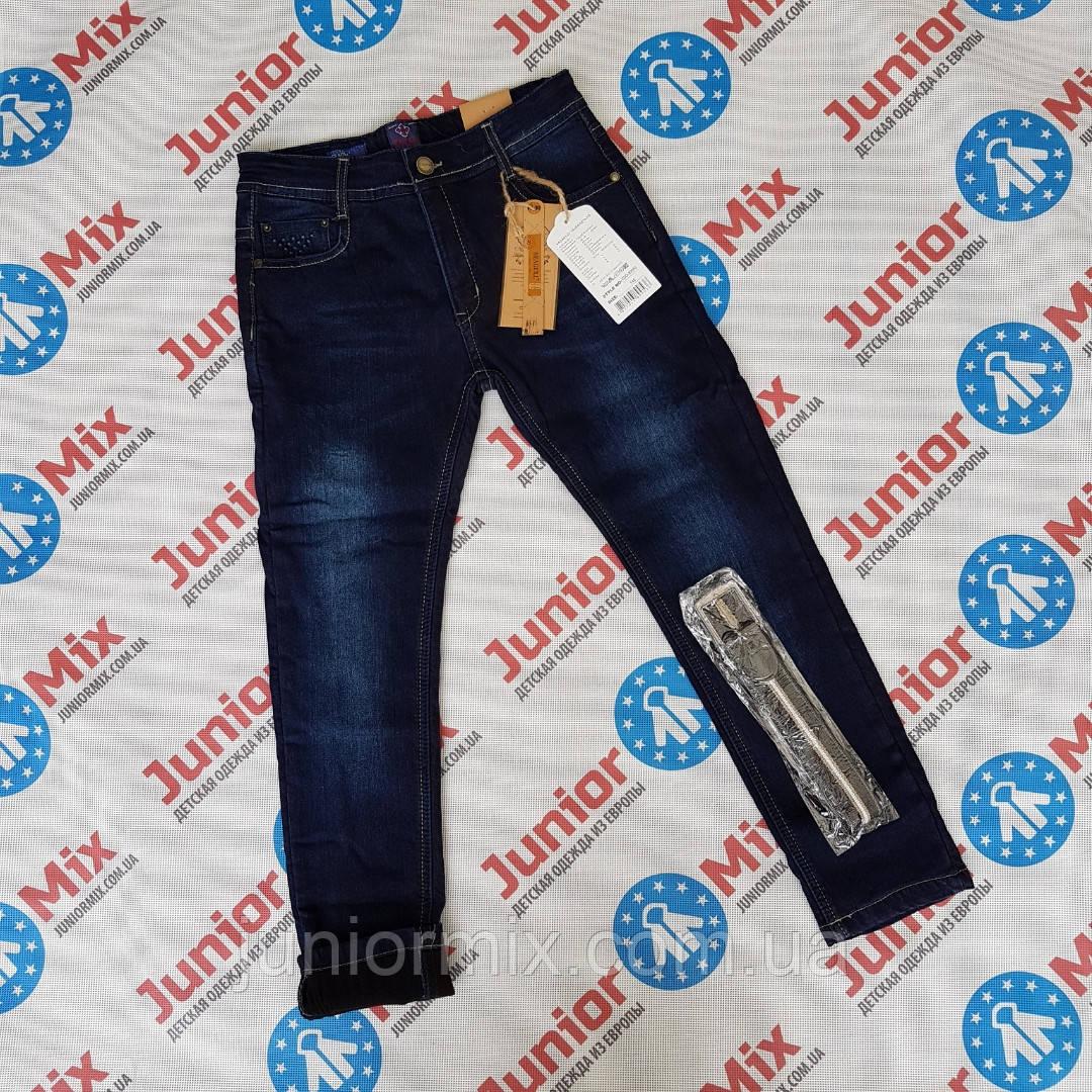 Подростковые теплые джинсы на флисе для мальчиков оптом SEAGULL