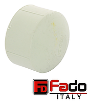 Заглушка PPR 63 мм полипропиленовая FADO Италия