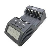 Зарядное устройство Extradigital BM110, Black, 4 x AA/AAA Ni-Cd/Ni-MH, независимые каналы, LCD экран (AAC2826)