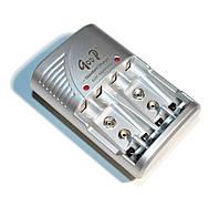 Зарядное устройство универсальное C802B 2xAA/2xAAA/9V, 2.4VDC 300mA