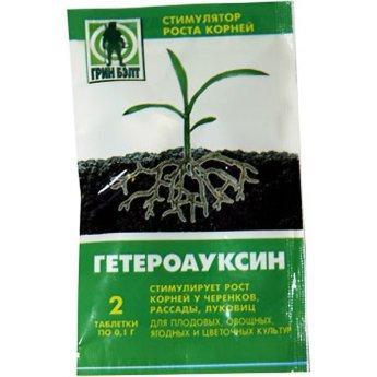 Гетероауксин 0,2 г стимулятор росту коренів, Green Belt