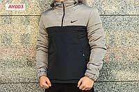 Утепленный анорак Intruder с капюшоном. Код: АУ003/440