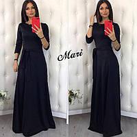 Длинное женское платье Модель 5067 СК