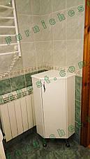 Комод угловой для ванной комнаты Базис 35-01 правый ПИК, фото 2