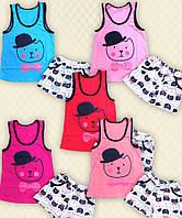 TM Dresko Комплект детский Кэт: майка + шорты кулир (30079)