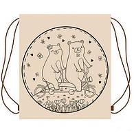 Рюкзак ЭКО для речей Медвежата