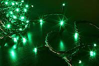 Гирлянда светодиодная зеленая 100 Ламп