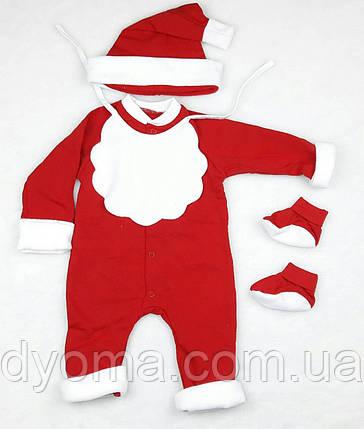"""Детский новогодний комплект """"Санта """" для мальчиков , фото 2"""