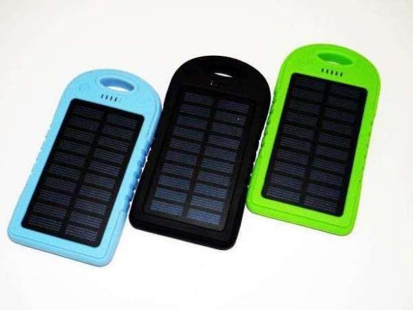 Power Bank Solar 20000 mAh на солнечной батареях